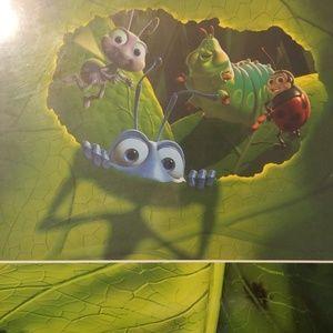 Disneys bugs life deluxe gift book